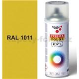 Sprej béžový lesklý 400ml, odstín RAL 1011 barva hnědo béžová lesklá