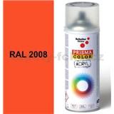 Sprej oranžově broskvový lesklý 400ml, odstín RAL 2008 barva oranžově broskvová lesklá