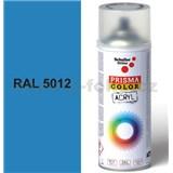 Sprej modrý lesklý 400ml, odstín RAL 5012 barva světle modrá lesklá