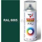 Sprej zelený lesklý 400ml, odstín RAL 6005 barva mechově zelená lesklá