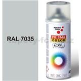 Sprej šedý lesklý 400ml, odstín RAL 7035 barva světle šedá lesklá
