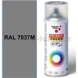 Sprej prachově šedý matný 400ml, odstín RAL 7037M barva prachově šedá matná