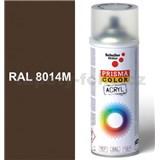 Sprej hnědý matný 400ml, odstín RAL 8014M barva sépiová matná