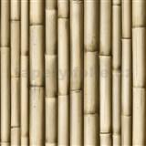 Vinylové tapety na zeď Bluff bambus hnědý