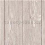Vliesové tapety IMPOL Wood and Stone 2 dřevo světle hnědé