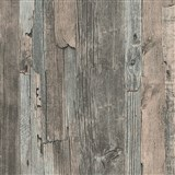 Vliesové tapety IMPOL Wood and Stone 2 dřevo vintage hnědo-šedé