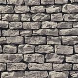 Vliesové tapety na zeď Wood´n Stone kámen šedý