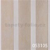 Vliesové tapety na zeď La Veneziana - pruhy zlaté s metalickým efektem - SLEVA