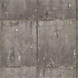 Vliesové tapety na zeď IMPOL Instawalls 2 betonové panely hnědo-zlaté