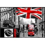 Vliesové fototapety Londýn rozměr 366 cm x 254 cm