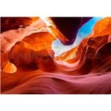 Vliesové fototapety Antelope Canyon Arizona rozměr 368 cm x 254 cm
