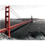Vliesové fototapety Golden Gate Bridge rozměr 312 cm x 219 cm