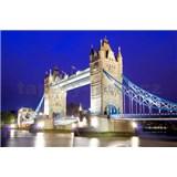 Vliesové fototapety Tower Bridge rozměr 312 cm x 219 cm