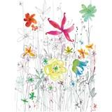 Vliesové fototapety Joli barevný akvarel rozměr 184 cm x 254 cm