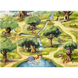 Fototapety Disney Medvídek Pú rozměr 254 cm x 184 cm