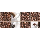Vliesové fototapety káva rozměr 250 cm x 104 cm