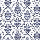 Samolepící tapety ornamenty modré - 67,5 cm x 15 m
