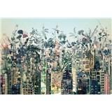 Fototapety Urban Jungle rozměr 368 cm x 254 cm