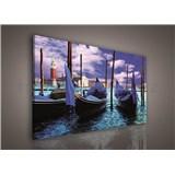 Obraz na plátně Benátky 75 x 100 cm