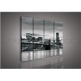 Obraz na plátně Brooklyn Bridge 120 x 80 cm