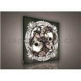 Obraz na plátně Love and Death 80 x 80 cm