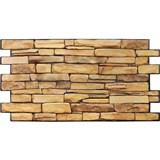 Obkladové 3D PVC panely rozměr 980 x 498 mm kámen přírodní