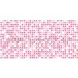 Obkladové 3D PVC panely rozměr 955 x 480 mm mozaika růžová