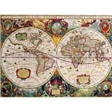Retro cedule World Map 40 x 30 cm
