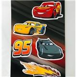 3D Pěnová dekorace na zeď Auta 3
