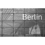 Luxusní vliesové fototapety Berlín - černobílé, rozměr 418,5 cm x 270 cm