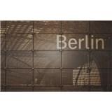 Luxusní vliesové fototapety Berlín - sépie, rozměr 418,5 cm x 270 cm