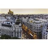 Luxusní vliesové fototapety Madrid - barevné, rozměr 418,5 cm x 270 cm