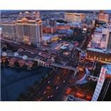 Luxusní vliesové fototapety Las Vegas - barevné, rozměr 325,5 cm x 270 cm
