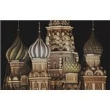 Luxusní vliesové fototapety Moskva - sépie, rozměr 418,5 cm x 270 cm