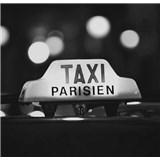 Luxusní vliesové fototapety Paříž - černobílé, rozměr 279 cm x 270 cm
