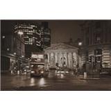 Luxusní vliesové fototapety Londýn - sépie, rozměr 418,5 cm x 270 cm