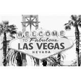 Luxusní vliesové fototapety Las Vegas - černobílé, rozměr 418,5 cm x 270 cm