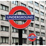 Luxusní vliesové fototapety Londýn - barevné, rozměr 279 cm x 270 cm