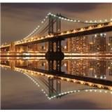 Luxusní vliesové fototapety New York - barevné, rozměr 279 cm x 270 cm