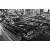 Luxusní vliesové fototapety Los Angeles - černobílé, rozměr 418,5 cm x 270 cm