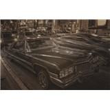 Luxusní vliesové fototapety Los Angeles - sépie, rozměr 418,5 cm x 270 cm