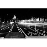 Luxusní vliesové fototapety Washington dc - černobílé, rozměr 418,5 cm x 270 cm