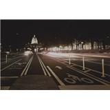 Luxusní vliesové fototapety Washington dc - sépie, rozměr 418,5 cm x 270 cm