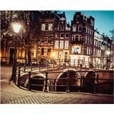 Luxusní vliesové fototapety Amsterdam - barevné, rozměr 325,5 cm x 270 cm