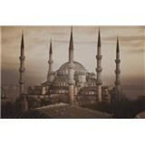 Luxusní vliesové fototapety Istanbul - sépie, rozměr 418,5 cm x 270 cm