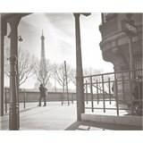 Luxusní vliesové fototapety Paříž - barevné, rozměr 325,5 cm x 270 cm
