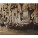 Luxusní vliesové fototapety Venice - sépie, rozměr 325,5 cm x 270 cm