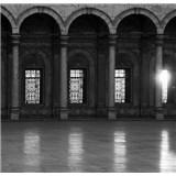 Luxusní vliesové fototapety Cairo - černobílé, rozměr 279 cm x 270 cm