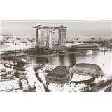Luxusní vliesové fototapety Singapore - barevné, rozměr 418,5 cm x 270 cm