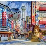 Luxusní vliesové fototapety Yokohama - barevné, rozměr 279 cm x 270 cm